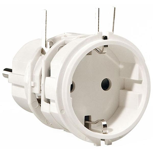ELV Schutzkontakt-Stecker-Steckdosen-Einsatz OM 54 D ohne Sicherungshalter