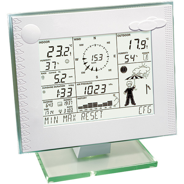 Homematic Wetterstation HM-WDC7000 für Smart Home / Hausautomation