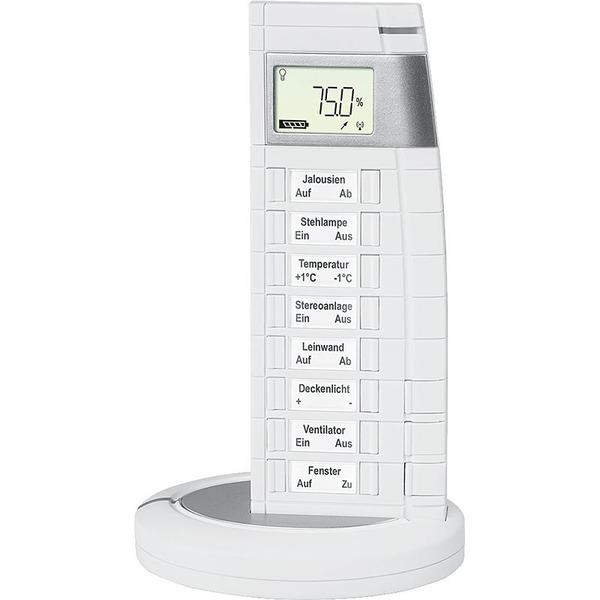 Homematic Funk-Fernbedienung 19 Tasten mit Display in weiß HM-RC-19 für Smart Home / Hausautomation