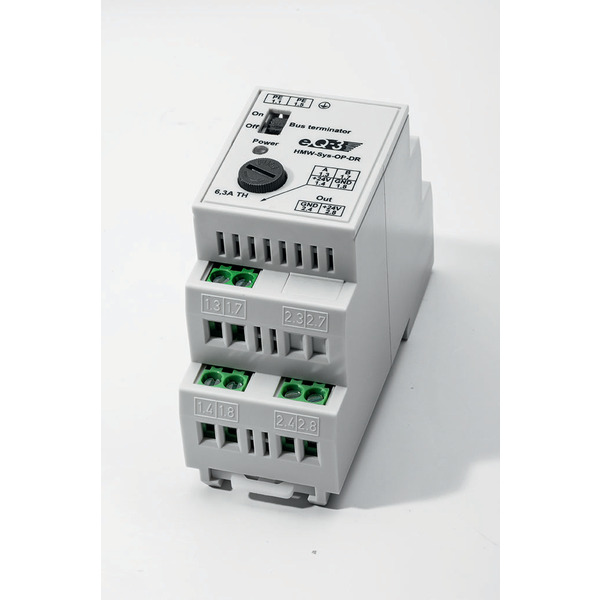 Homematic Wired RS485 Überspannungsschutz HMW-Sys-OP-DR für Smart Home / Hausautomation
