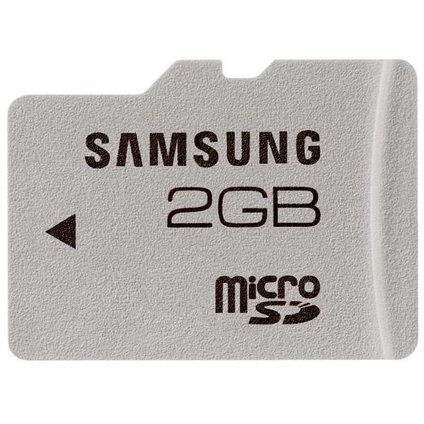 Samsung microSD 2 GB Class 4