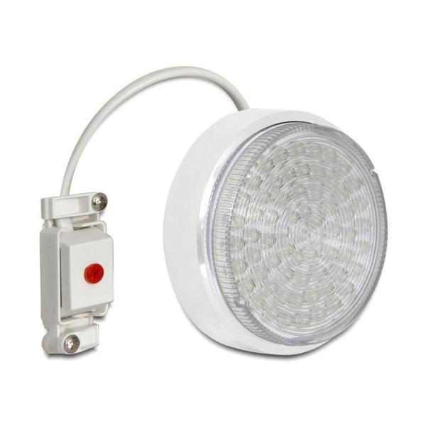 Delock Lighting Aufbaufassung GX53, weiss, rund