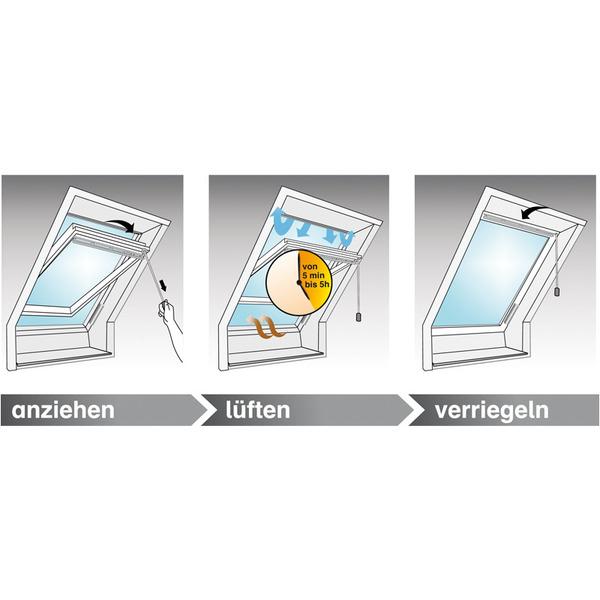 Winflip Automatischer Fensterschliesser, f. Dachfenster