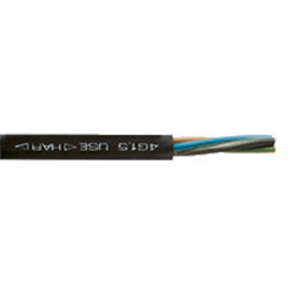 Heitronic Schwere Gummi-Schlauchleitung H07RN-F - Nennspannung 450/750V 3G 1,5, 25m