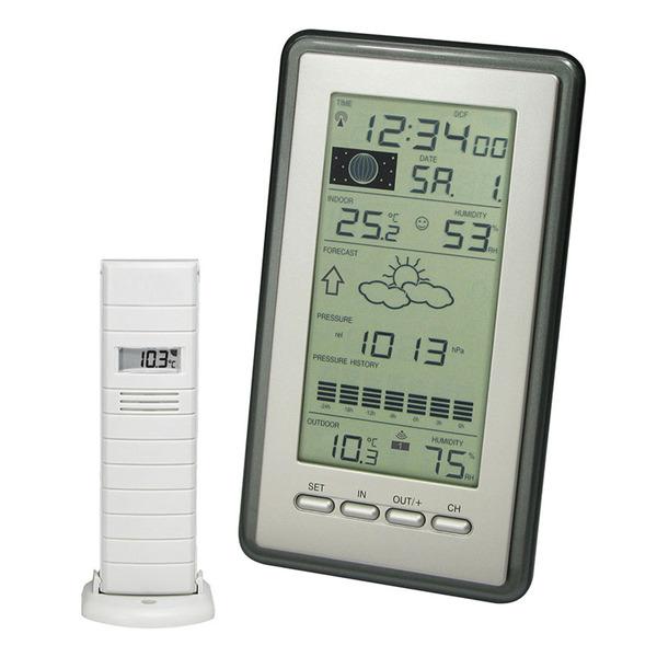 technoline Wetterstation WS 9040, inkl Außensensor