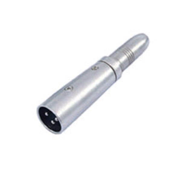 Adapter XLR-Stecker>6,3 mm-Klinkenbuchse, mono