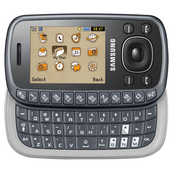 Samsung B3310 titan grey mit QWERTZ-Tastatur, Bluetooth und 2MP Kamera
