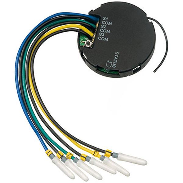 ELV Homematic Komplettbausatz Kontakt-Interface für Öffner und Schließerkontake HM-SCI-3-FM, für Sma