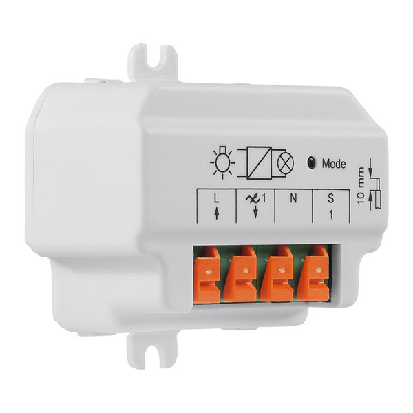 Homematic 1-Kanal-Unterputzdimmer, Phasenabschnitt HM-LC-Dim1T-FM für Smart Home / Hausautomation