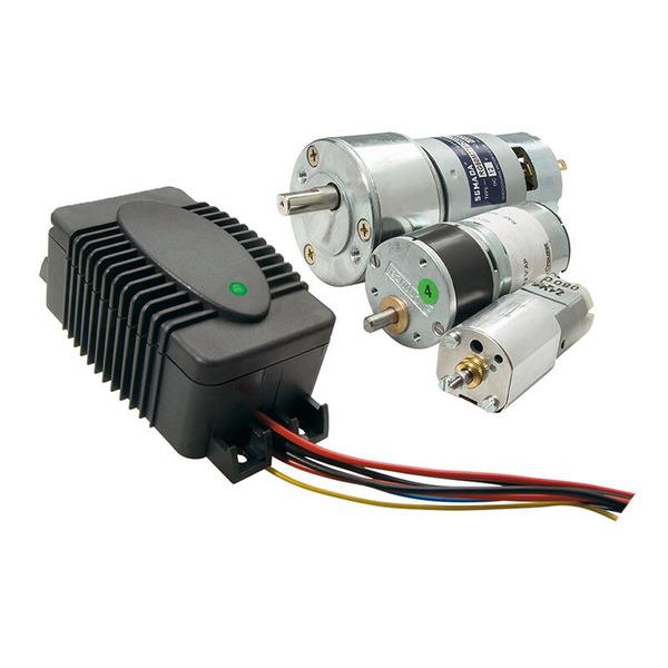 ELV Motorabschaltung DC für einfache Motoraktorik MAS100, Komplettbausatz