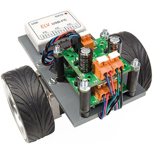ELV Komplettbausatz Intelligentes Schrittmotor Treibermodul iSMT
