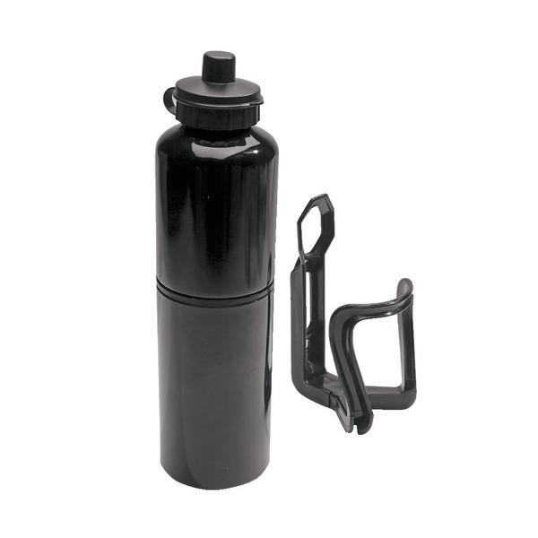 Fahrrad-Trinkflasche mit integriertem Reparatur-Werkzeug-Satz