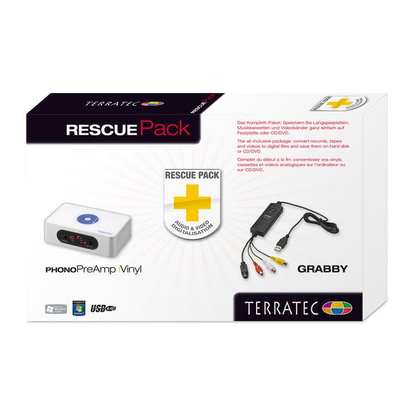 TerraTec RescuePack Audio- und Video-Digitalisierer