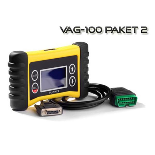 Duonix VAG 100-2 Profi-Handheld-OBD-Diagnosescanner mit VAG-Sonderfunktionen