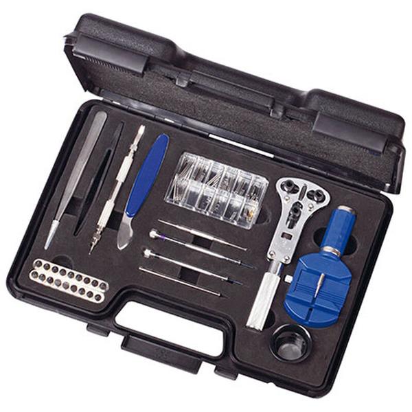 MK-Handel 35 tlg. Profi-Uhrmacher-Werkzeugset mit Koffer