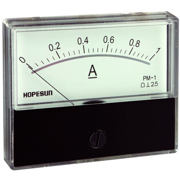 Einbaumessmodul analog Strom  DC 1 A/ 70 x 60 mm