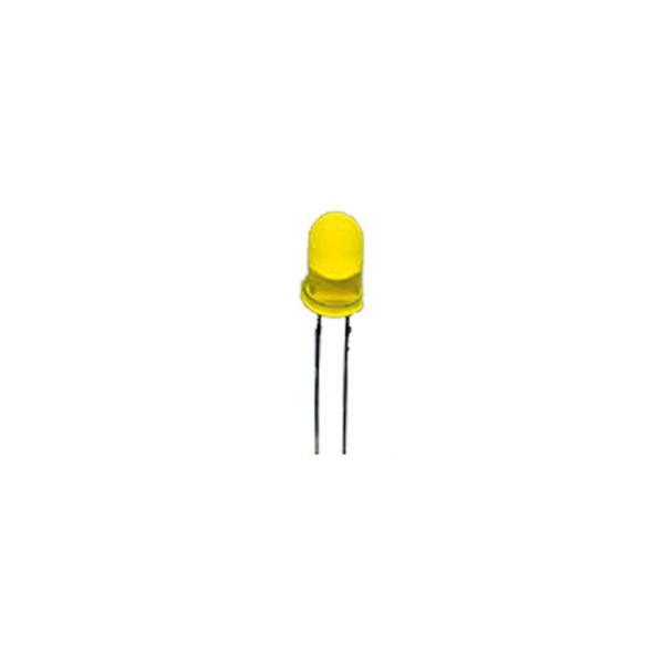 10x LED 5 mm, Gelb