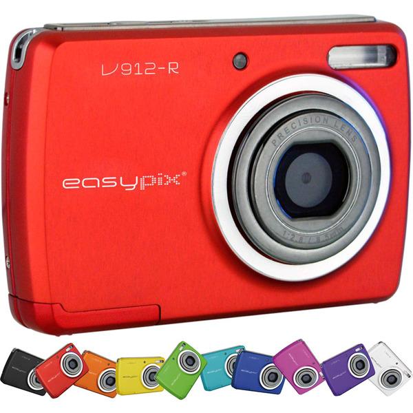 easypix Digitalkamera V912 rot