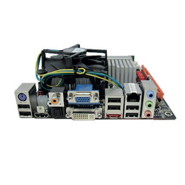 Zotac Mini-ITX-Board 9300 I + Intel Core 2 Duo E5400 2x 2,7 GHz