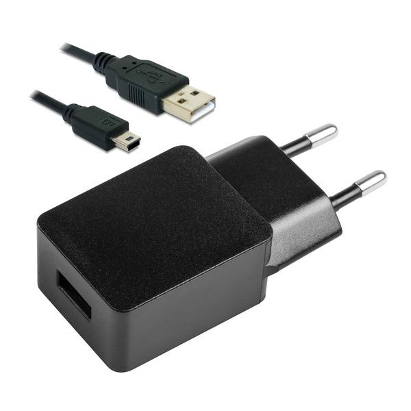 Netzteil USB Eco-Friendly 5,0 V / 1 A inkl. Mini-USB-Verbindungskabel