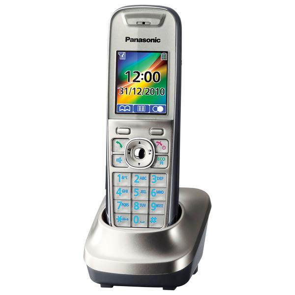 DECT-Zusatz-Mobilteil für Panasonic KX-TG85xx Serie, silber