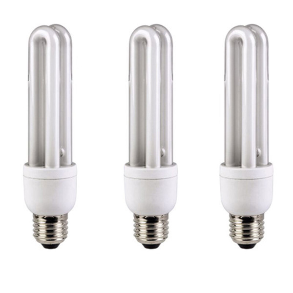 XAVAX Energiesparlampe E27, 15W, 3er-Set