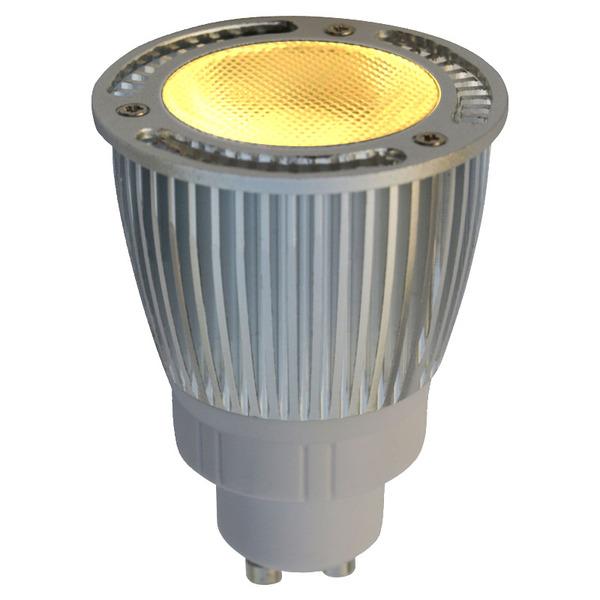 LEDGalaxy 6,7-W-LED-Strahler GU10, Warmweiß