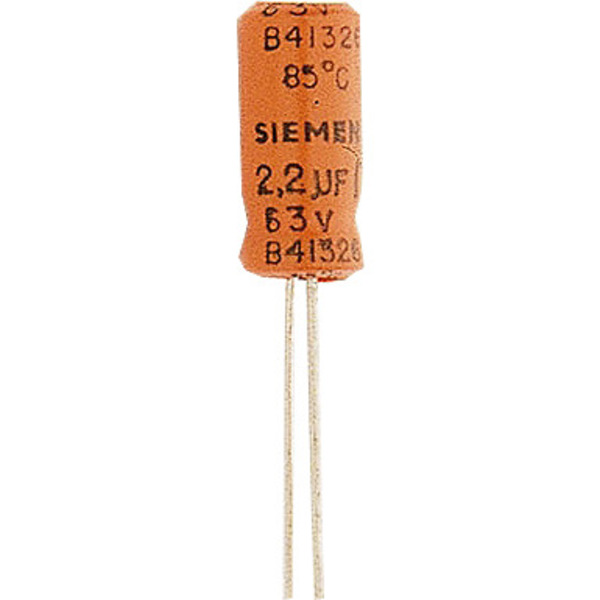 Elektrolytkondensator 2200 μF, 25 V, RM 5 mm, radial