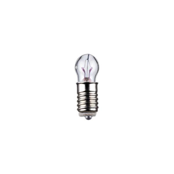 Kleinstlampe Sockel E5,5, 6 x 15 mm, 3,5 V