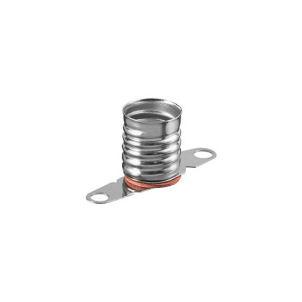 Fassung für E10 Sockel mit Lötfahnen