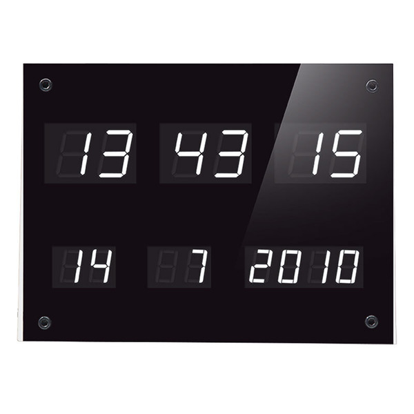 ELV DCF-Uhr mit LED-Anzeigen DCF-7SEG, Komplettbausatz