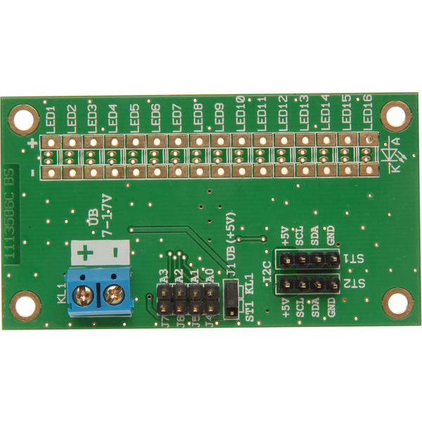 ELV LED-I2C-Steuertreiber, 16 Kanäle, Komplettbausatz