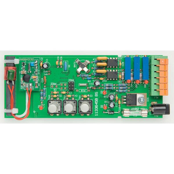 ELV DCF-Uhr mit Drehspulinstrument-Anzeige DUD1, Komplettbausatz