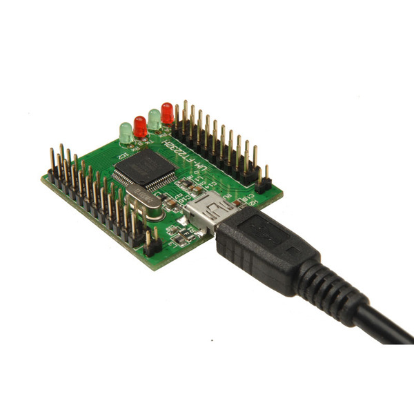 ELV Komplettbausatz Highspeed Mini USB Modul UM-FT2232H