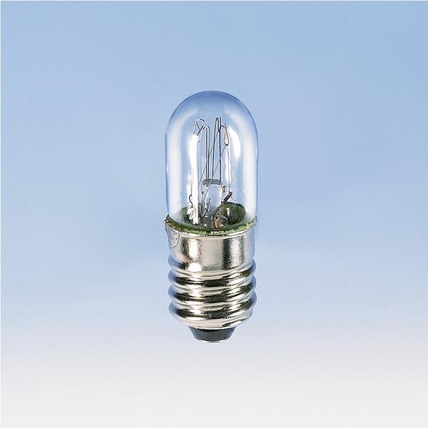 Barthelme Röhrenlampe Sockel E10, 10 x 28 mm, 30 V