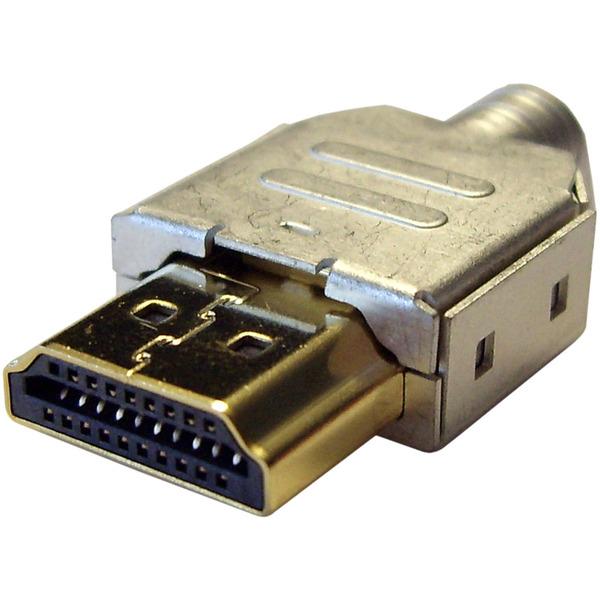 HDMI-Stecker 1.3, mit Gehäuse