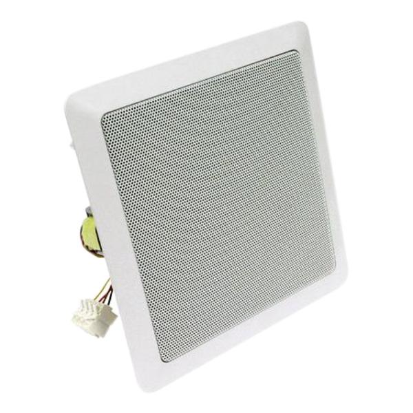 VISATON 2-Wege-Decken- und Wandeinbaulautsprecher DL 18/2 SQ 8 Ohm, 100 V