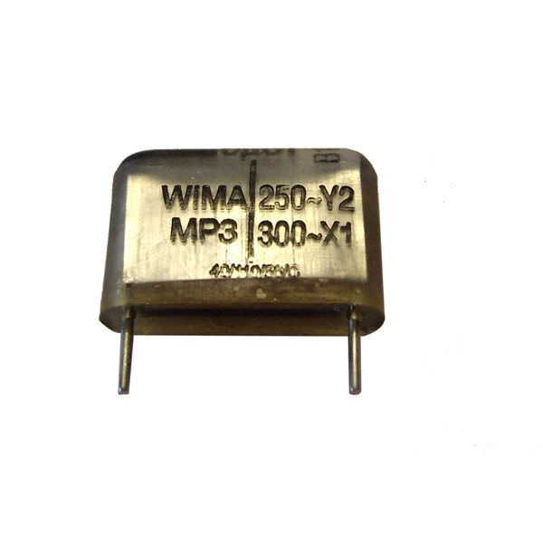 WIMA Y2-Kondensator 3,3 nF, 250 V, RM 10 mm, radial