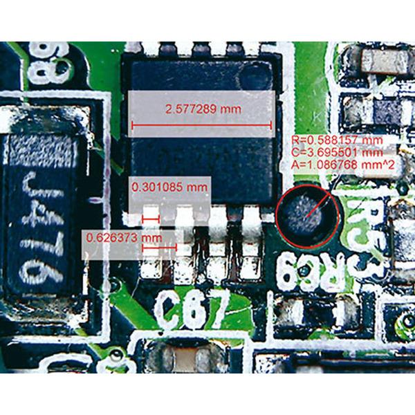 Funk-USB-Mikroskop mit Skalierungssoftware