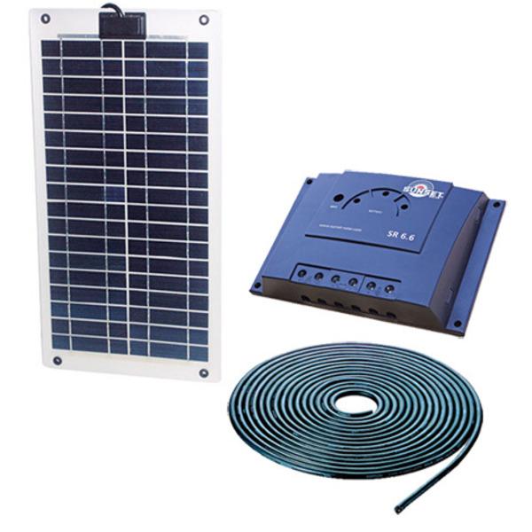 Sunset Energietechnik Solar-Laminat-Stromset 10 Watt
