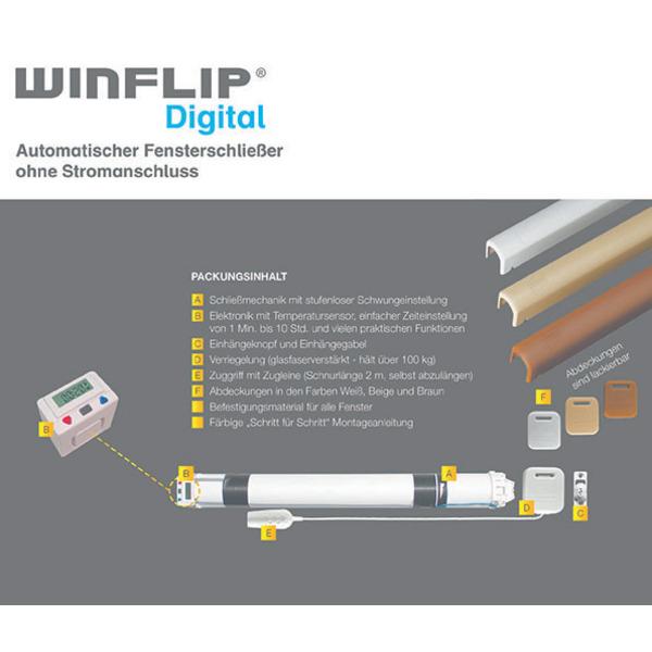 Winflip Digital - Automatischer Fensterschließer
