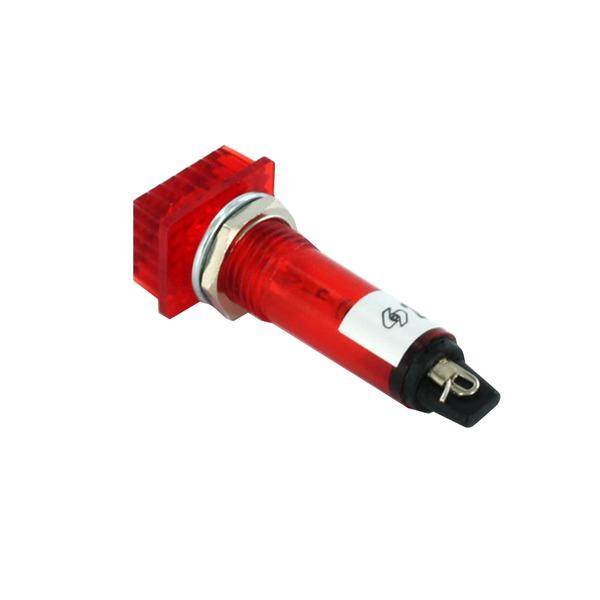 Signallampe neon 220 V, rot