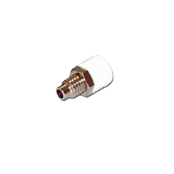 HO-Buchse 2,6 mm, weiß