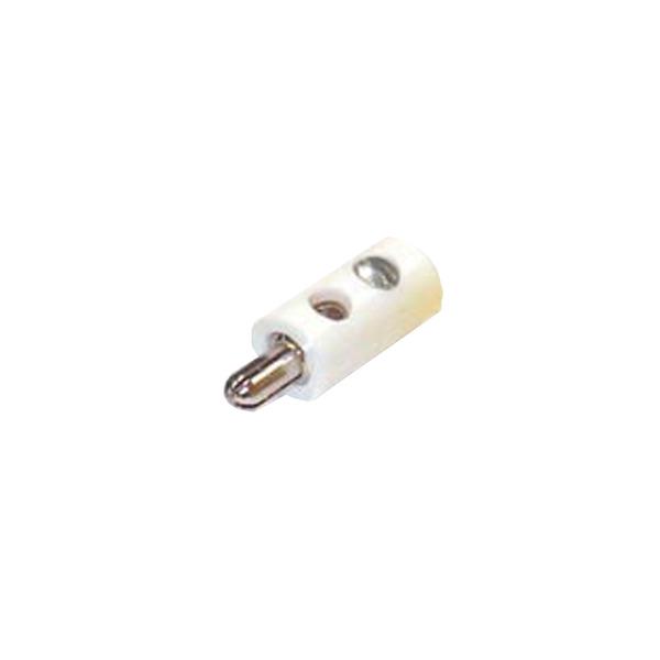 HO-Stecker 2,6 mm, weiß