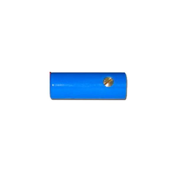 Bananen-Kupplung 4 mm, blau