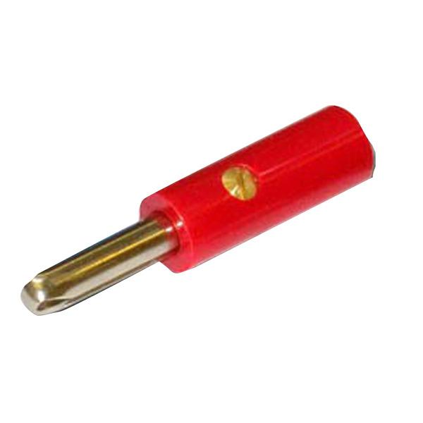 Bananen-Stecker 4 mm, rot