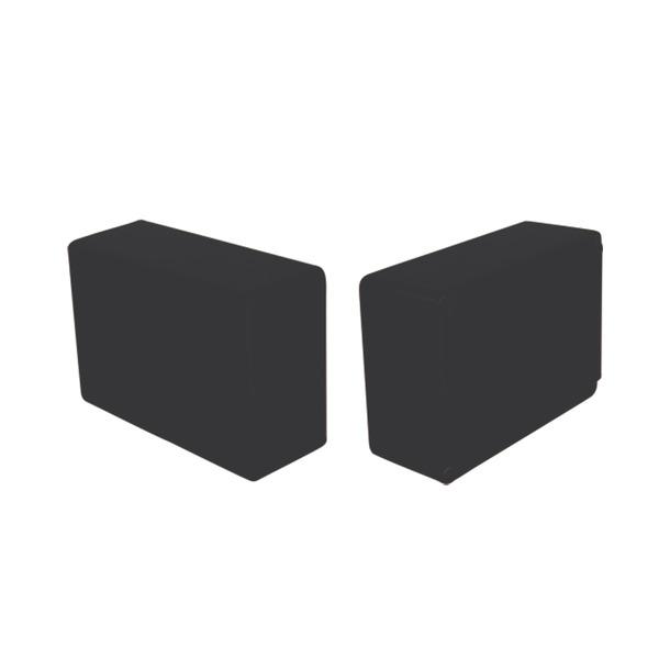 Strapubox Kunststoff-Gehäuse 2023 ABS 72 x 50 x 28 mm, schwarz