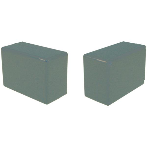 Strapubox Kunststoff-Gehäuse 2026 ABS 72 x 50 x 35 mm, schwarz