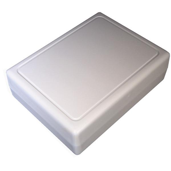 Strapubox Kunststoff-Gehäuse 2062 ABS 85 x 65 x 27 mm, grau