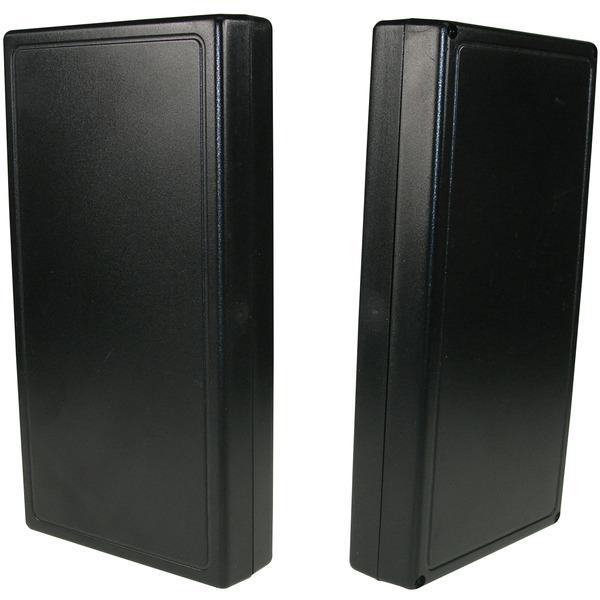 Strapubox Kunststoff-Gehäuse 2063 ABS 168 x 88 x 27 mm, schwarz